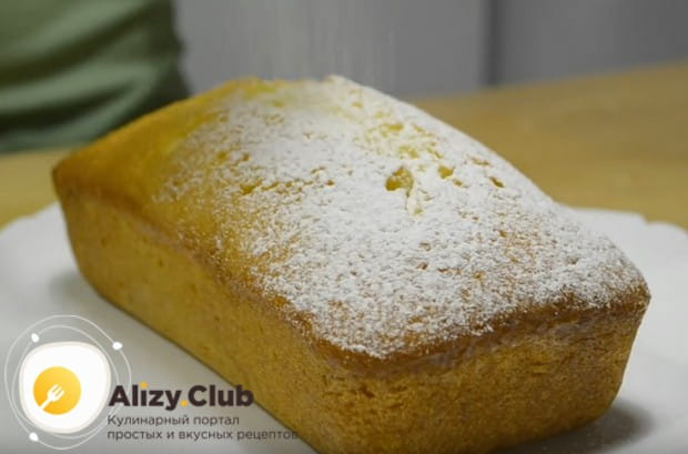 Приготовьте и вы такой чудный кекс с апельсином по нашему простому рецепту.