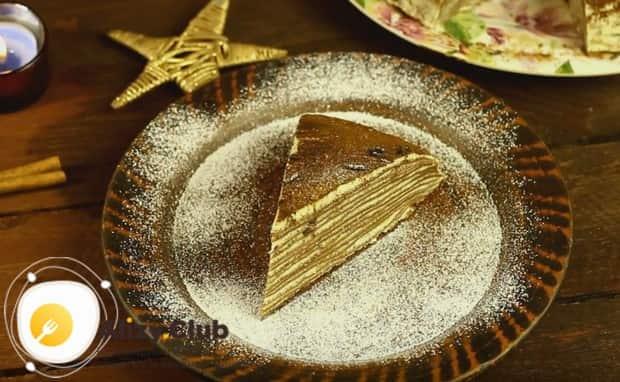 Такой торт станет настоящим украшением вашего чаепития.