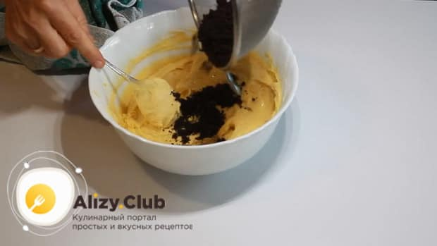 Для приготовления макового кекса соедините все ингредиенты.