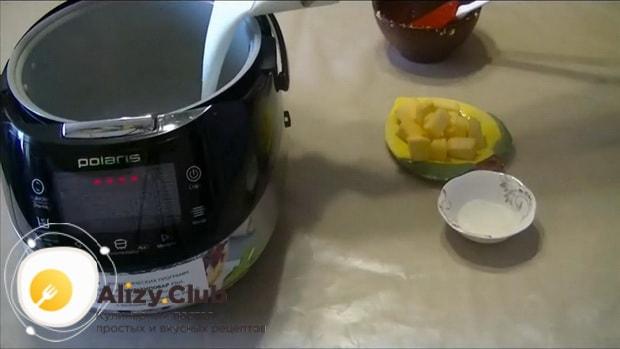 Вкусная кукурузная каша с тыквой в мультиварке готовится легко, смотрите рецепт с фото.