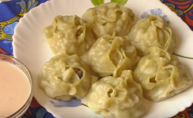 Рецепт приготовления мантов с тыквой
