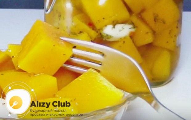 Наши рецепты помогут вам быстро и вкусно приготовить маринованную тыкву.