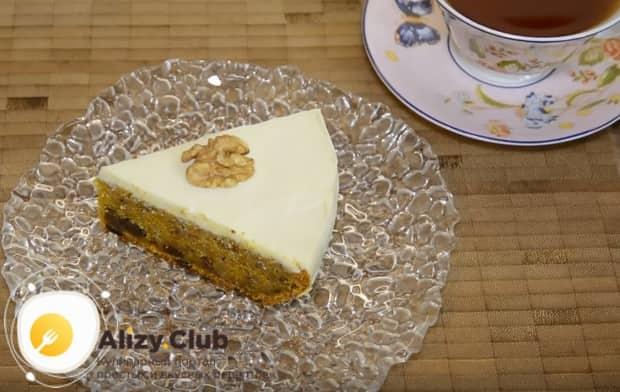 Такой торт станет прекрасным дополнением к чаепитию.