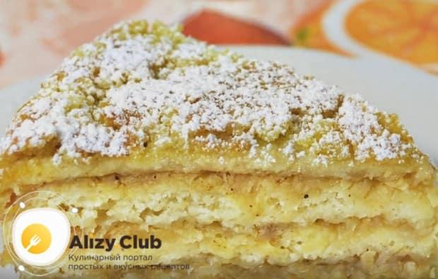 По этому же рецепту вы можете приготовить насыпной пирог с яблоками в мультиварке.