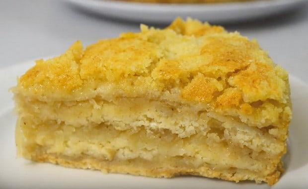 Как испечь насыпной пирог 4