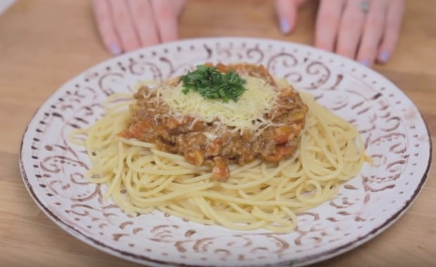 Как приготовить пасту (спагетти) болоньезе с фаршем по пошаговому рецепту с фото