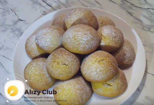 Вот мы и приготовили простое и вкусное постное печенье из тыквы.