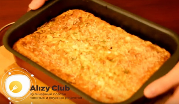 Как приготовить наливной пирог с капустой на кефире по пошаговому рецепту