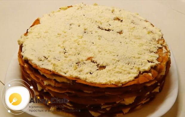 Пошаговый рецепт приготовления блинного торта с творогом с фото и видео инструкциями