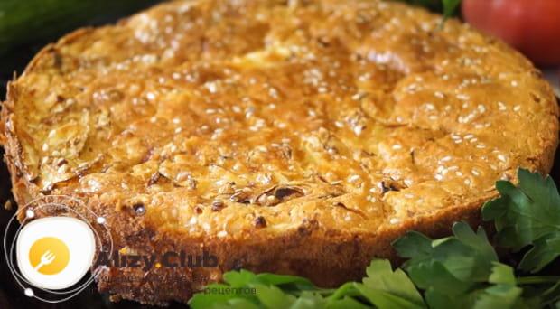 Узнайте как готовится заливной пирог с капустой в мультиварке по пошаговой фото инструкции