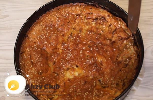 Как приготовить заливной пирог с капустой на майонезе по подробному рецепту с фото и видео