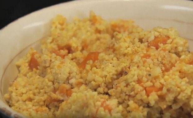 Пошаговый рецепт пшенной каши с тыквой в мультиварке
