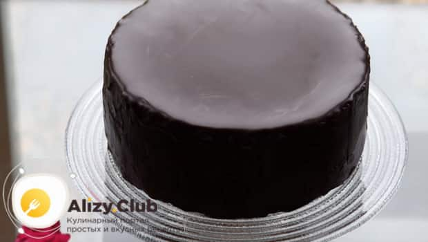 Вот какой идеально ровный должен быть торт захер