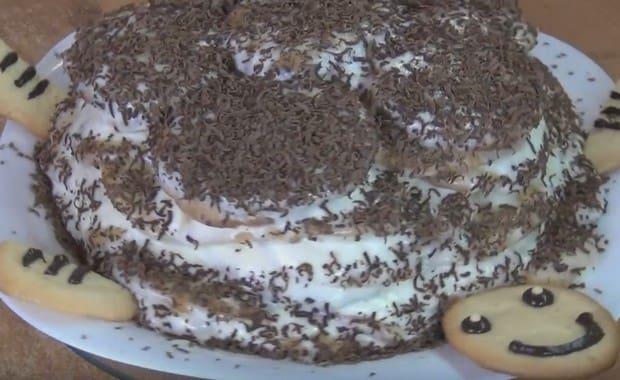 Как приготовить торт «Черепаха» по классическому пошаговому рецепту с фото