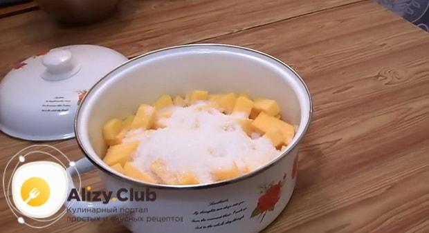 Смотрите как приготовить цукаты из тыквы, быстро и вкусно.