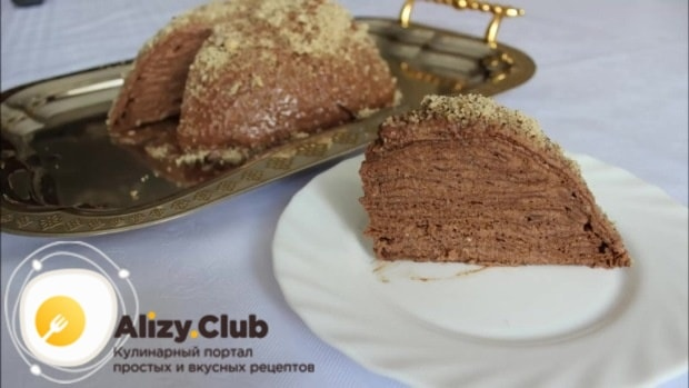 Как украсить и правильно подать такой торт