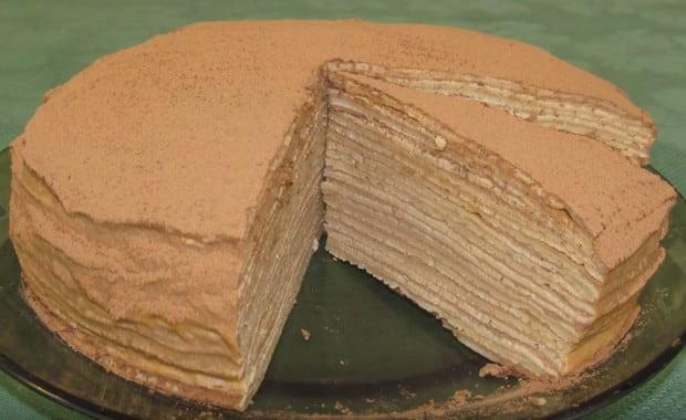 Как приготовить шоколадный блинный торт по пошаговому рецепту с фото