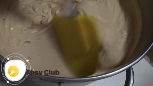 Добавьте ванильный сахар и загуститель