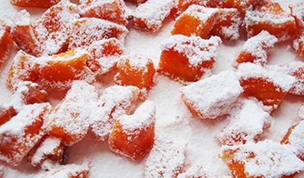Вкусные цукаты из тыквы готовы.