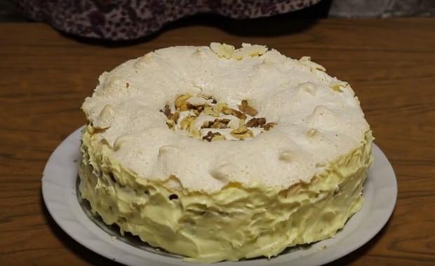 Торт с безе 10 рецептов с фото пошагово. Как