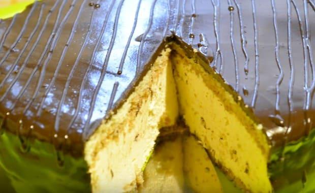 Пошаговый рецепт торта «Птичье молоко» с желатином