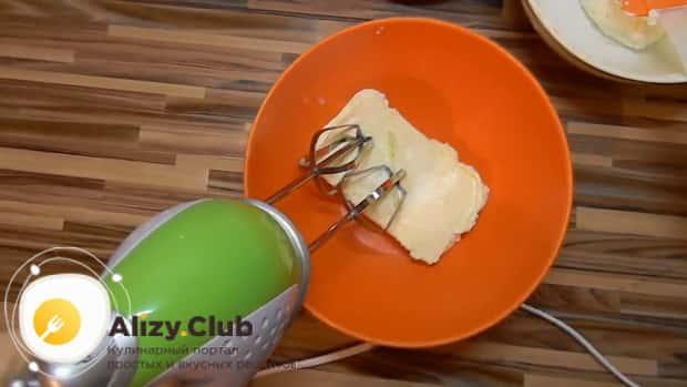 взбейте масло для приготовления вкусный творожный крем для торта