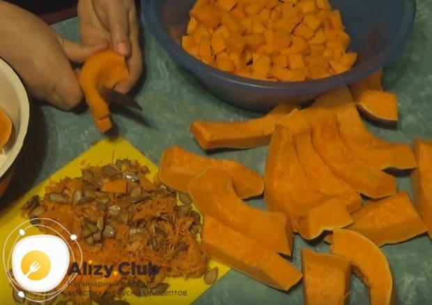 Предлагаем вашему вниманию отличный рецепт варенья из тыквы с курагой на зиму.