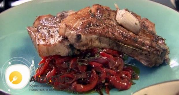 маринад для отбивных из свинины на сковороде