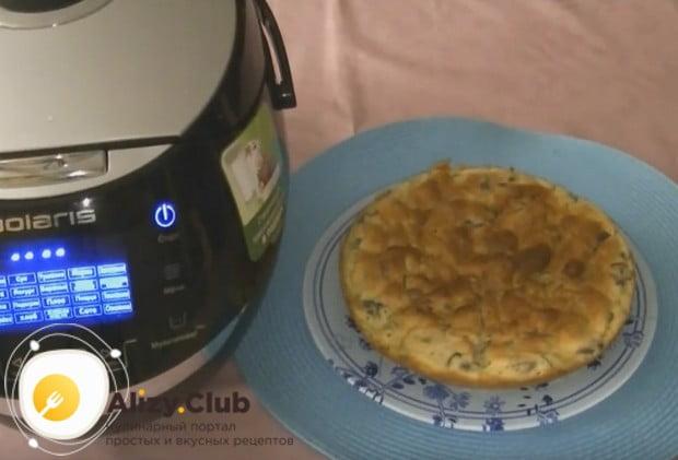 Аппетитный пирог готов!