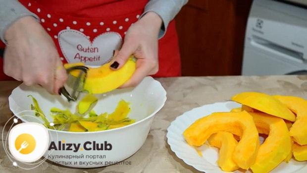 Простые рецепты приготовления тыквы запеченной кусочками.