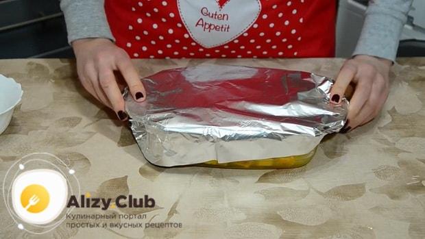 Смотрите как правильно запечь тыкву в духовке кусочками.