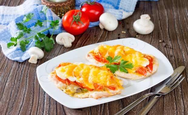 Как приготовить куриные отбивные с сыром в духовке по пошаговому рецепту и фото