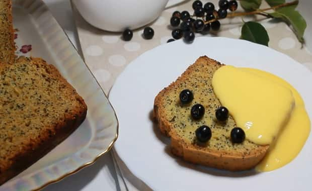 Пошаговый рецепт приготовления кекса с маком