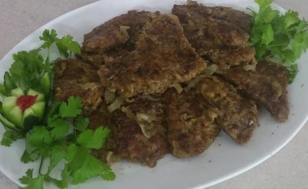 Пошаговый рецепт приготовления отбивных из говяжьей печени