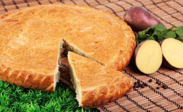 Как приготовить заливной пирог с картошкой по пошаговому рецепту и фото