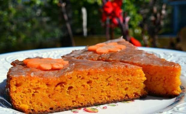 Как приготовить постный морковный пирог по пошаговому рецепту с фото
