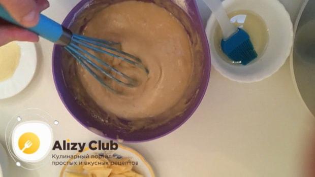Перед тем как испечь постный пирог с яблоками, приготовьте все ингредиенты.