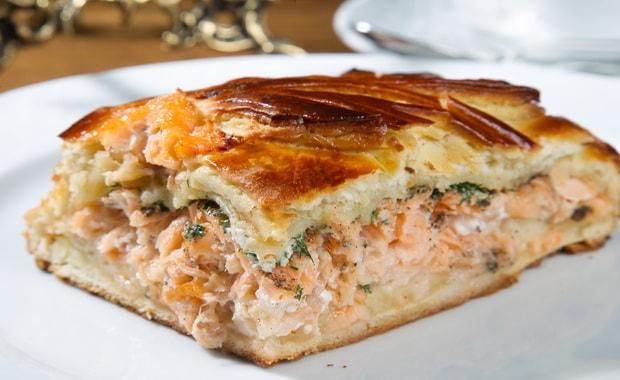 Как приготовить рыбный пирог в мультиварке по пошаговому рецепту и фото