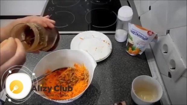 салат с тыквой и руколой