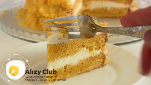 Попробуйте приготовить торт из тыквы с апельсином.