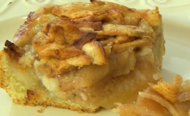 Пошаговый рецепт Цветаевского яблочного пирога