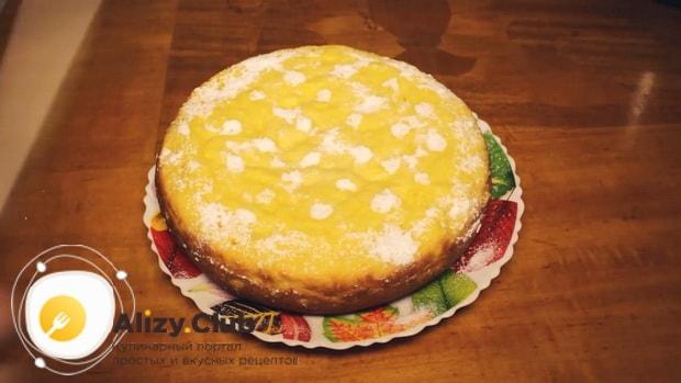 Вкуснейший апельсиновый пирог готов.