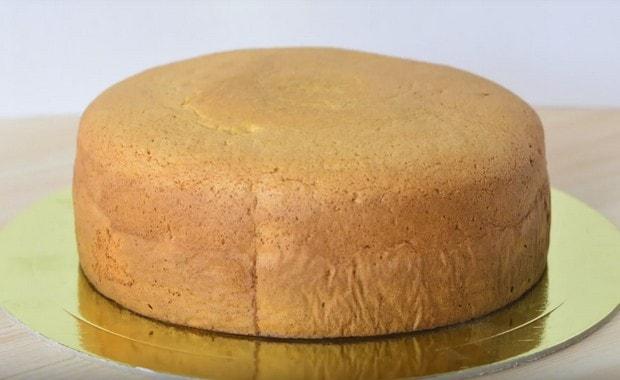 Пошаговый рецепт приготовления бисквита для торта с фото