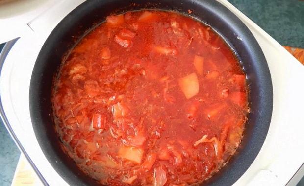 Как приготовить борщ в мультиварке по пошаговому рецепту с фото