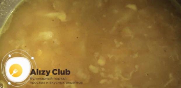 гороховый крем суп рецепт