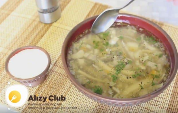 Надеемся, вам понравился наш простой рецепт приготовления грибного супа с вешенками.