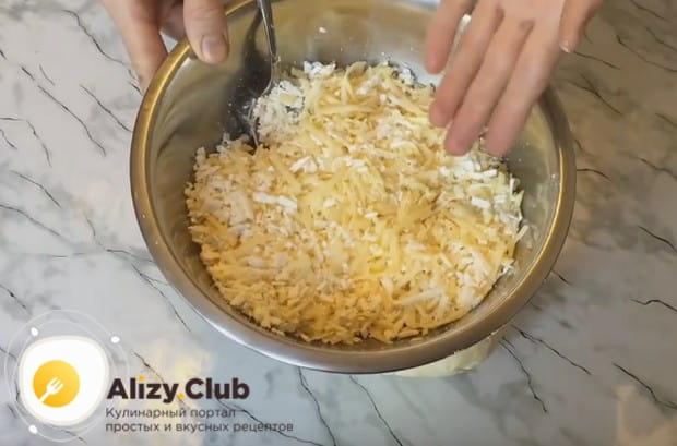 Хачапури из слоеного теста можно готовить с адыгейским сыром или с творогом.