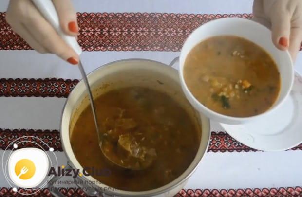 Вот мы и рассказали, как правильно приготовить суп харчо из говядины.