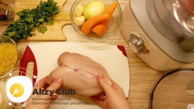 рецепт супа с фрикадельками из куриного фарша