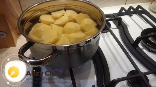 запеканка с фаршем и картофелем в духовке